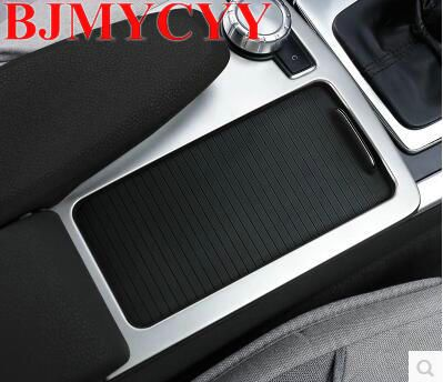 BJMYCYY Stainless Steel Car Console Gear Shift Decal Strips For Mercedes Benz C class W204 2008-14 Water Cup Holder Frame. Yesterday's price: US $23.09 (19.09 EUR). Today's price: US $23.09 (19.09 EUR). Discount: 34%.