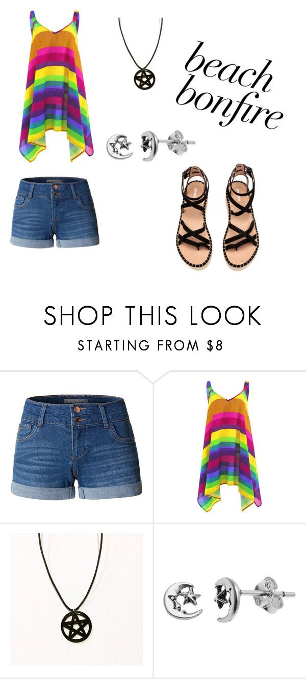 """""""Untitled #108"""" by ziadvil on Polyvore featuring LE3NO, Itsy Bitsy and beachbonfire"""