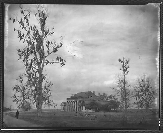Walking down the road along Bayou Lafourche...you come to deserted Woodlawn Plantation....sadly, this beautiful house no longer exist...