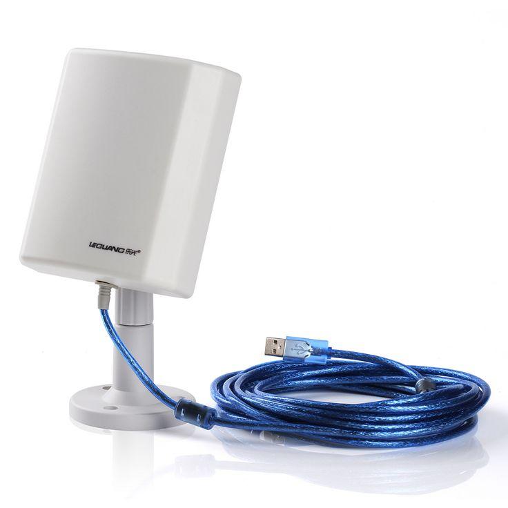 USB WiFi Antena de Interior y Al Aire Libre de larga Distancia Inalámbrico de hasta 3000 m de Distancia Puntos Calientes