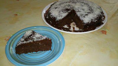 Sabores da Cozinha sem Glúten: Bolo de chocolate com farinha de coco e cobertura ...