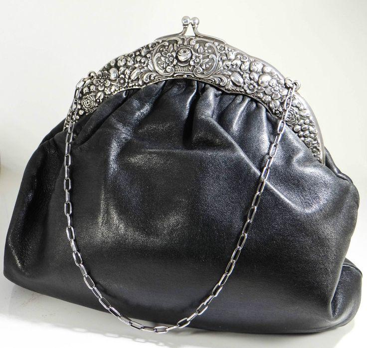 VINTAGE TASCHE Silber 800, punziert, vtg bag Silver 800 VI006 | eBay