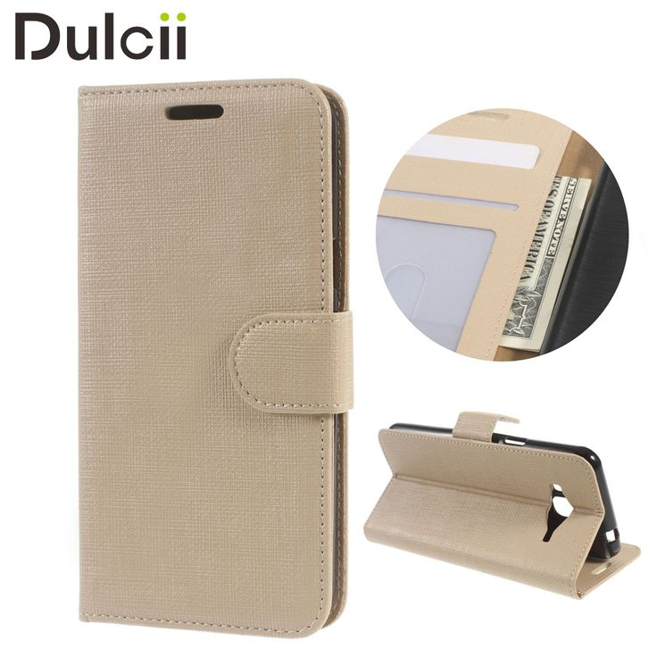 for Samsung Galaxy J3 (2016) Mobile Phone Cases Cloth Texture Wallet Leather Protector Bag Case for Galaxy J 3 (2016) Cover