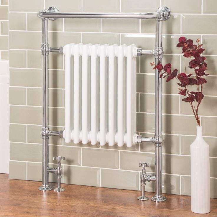 "Heat Output 2138 BTU  Chrome Finish  510mm Pipe Centres 10 year ""fit and forget"" Guarantee"