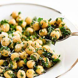 Chickpea Kale Salad- High Protien, Low Carb