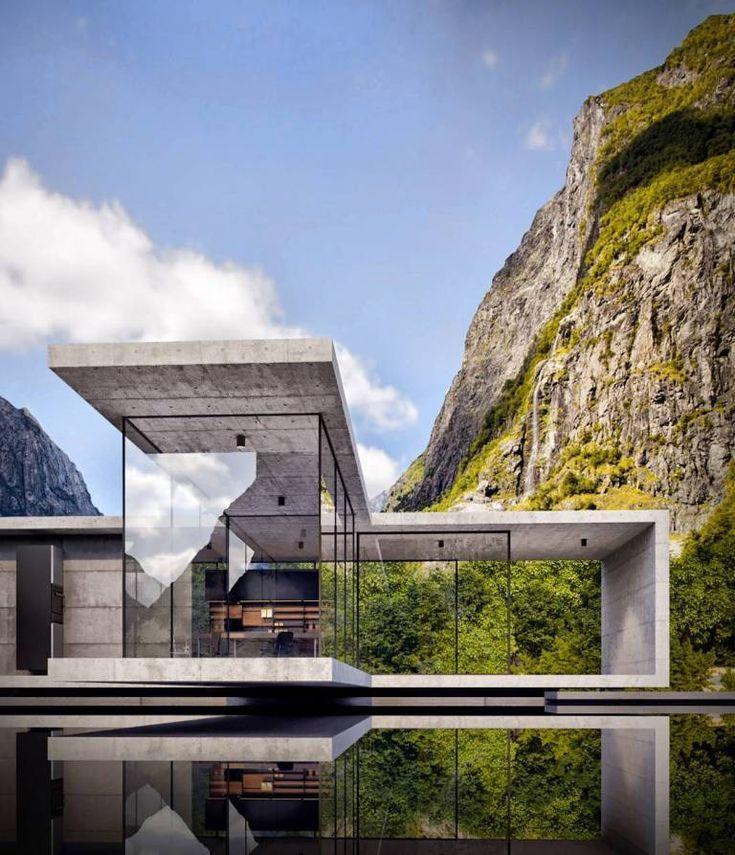 Alexander Nerovnya Architektur am See   Trendland,  #alexander #architektur #ner…