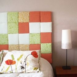 A tutorial for creating this fabulous patchwork headboard.Diy Furniture, Diy Crafts, Furniture Projects, Master Bedrooms, Diy Headboards, Headboards Tutorials, Patchwork Headboards, Big Girls Room, Diy Home