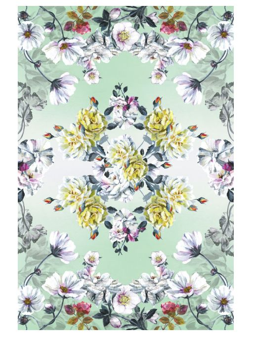 Couture Rose Fuchsia Rug by Tricia Guild for Moooi Carpets