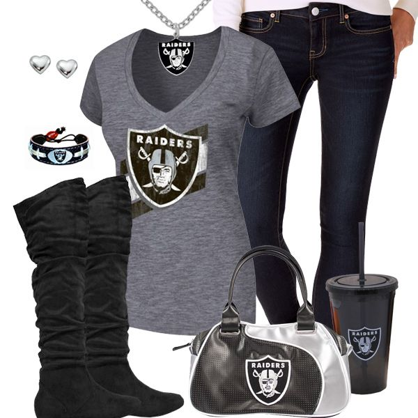 Oakland Raiders Fashion - Trendy Chill Raiders Fan