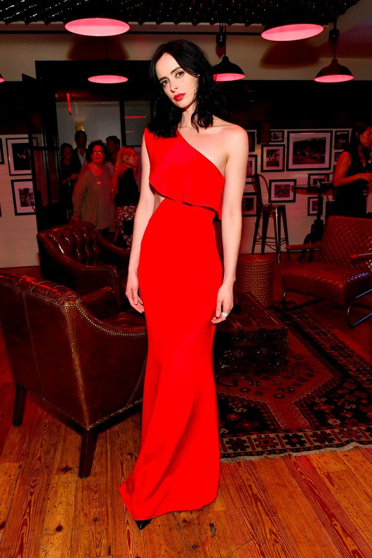 Krysten Ritter' attended the 'Marvel's The Defenders' New York premiere on Monday (July 31) She wore a  red Cushine et Ochs Pre-Fall 2017 gown.   Related PostsKrysten Ritter In Julien Macdonald At 'Marvel's The Defenders' New York PremiereKrysten Ritter In Prabal Gurung -Marvel's The Defenders Comic -Con 2017 PanelKrysten Ritter In Zuhair Murad – 'Jessica…