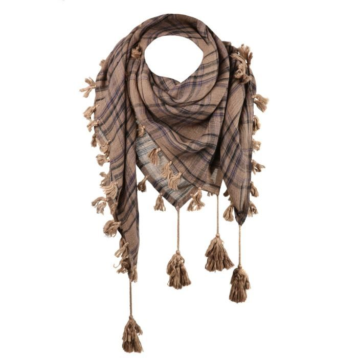 ECHARPE: Tira o pedazo de tela más largo que ancho que se dispone en cualquier parte del cuerpo, generalmente llevado sobre el cuello. Esta expresión es un galicismo de chal y mantón.