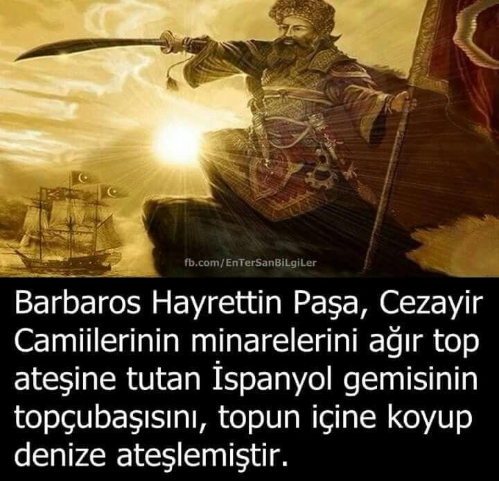 Barbaros, yine biz, yine Türkler. Selam olsun ecdadıma.