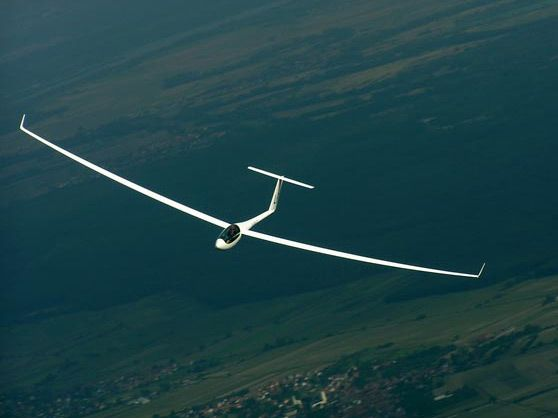 becky had the chance to fly in a glider plane 3 times she loved it