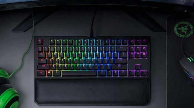 Razer's Space-Saving, Tenkeyless Mechanical Gaming Keyboard
