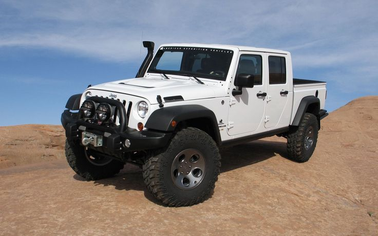AEV Jeep Brute Double Cab Front Three Quarter - My dream Jeep