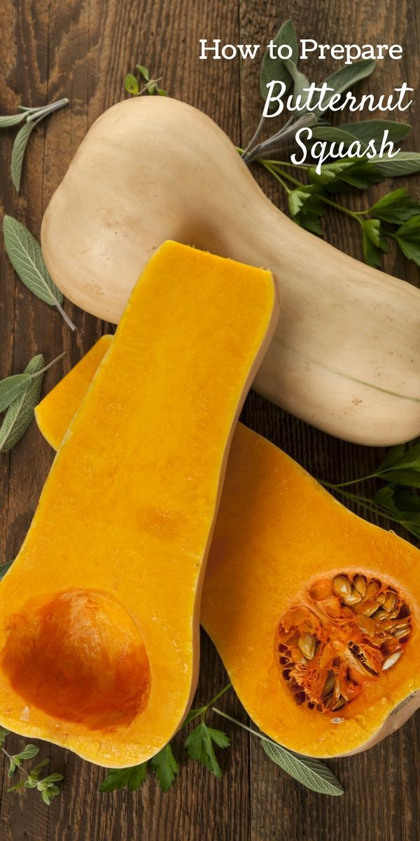 How to Cut and Prepare Butternut Squash in 5 Easy Steps. Whether you are roasting squash in the oven or cooking it on the stove, there are some basic steps you can take to prepare a butternut squash for your garden-fresh recipes. #sponsored