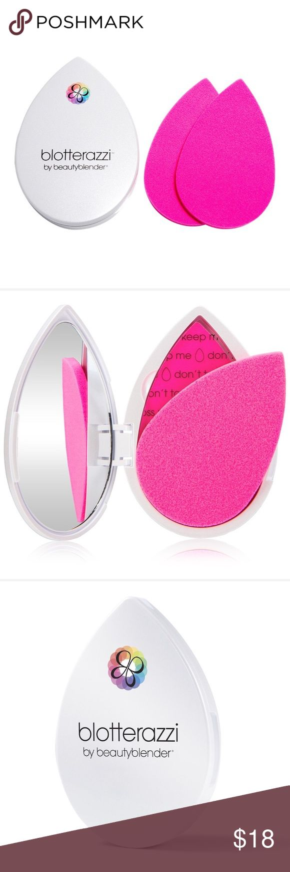 Bloterazzi by Beauty Blender A new approach to plotting paper! Reusable blotting pads in the same material as the famous original beauty blender. This is completely new. Box is not included. beauty blender Makeup Brushes & Tools