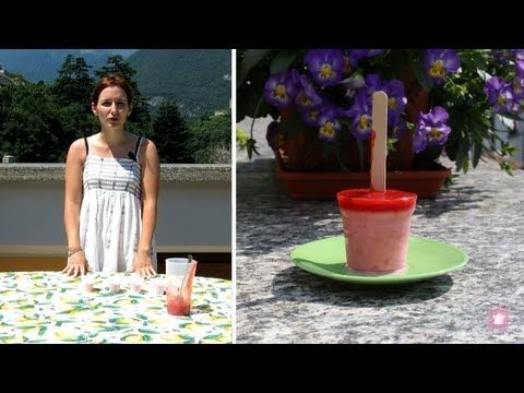 Ghiaccioli allo #yogurt e #fragola | #popsicles #strawberry #recipe #videoricetta #ricetta @Nnsnpasticcera