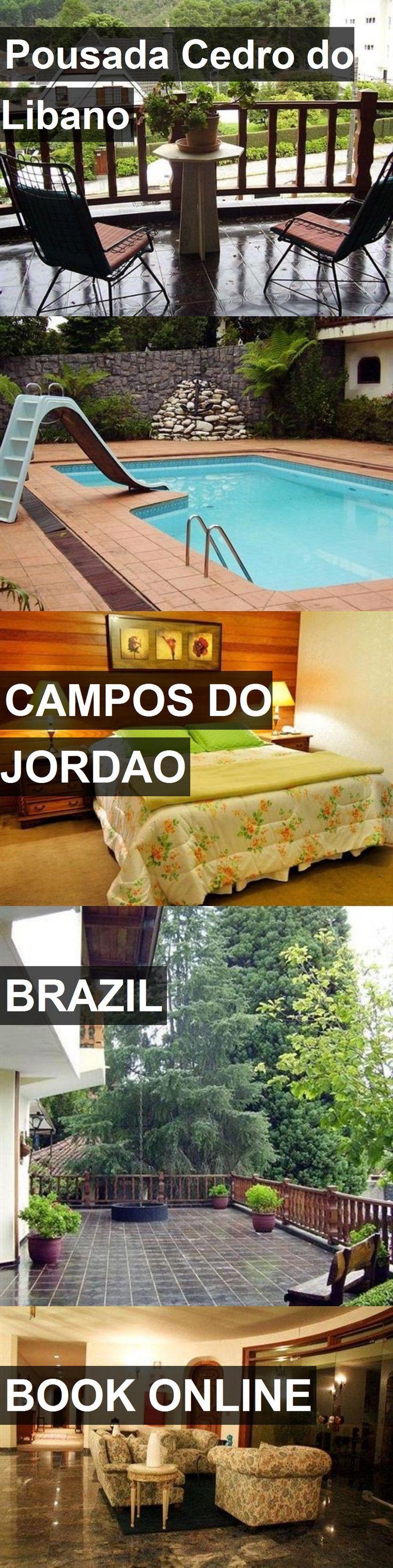 Hotel Pousada Cedro do Libano in Campos do Jordao, Brazil. For more information, photos, reviews and best prices please follow the link. #Brazil #CamposdoJordao #travel #vacation #hotel