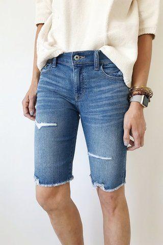 Cute knee-length shorts