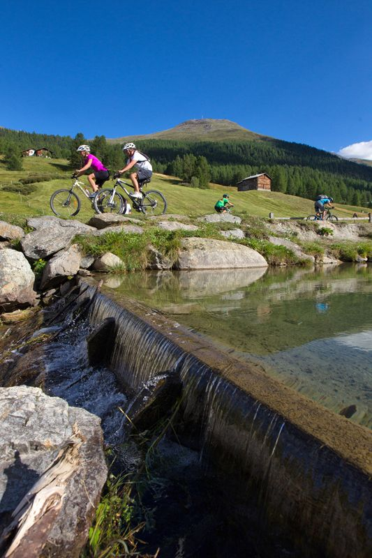 In #Livigno there is not just one option: a wide variety of trails and the right number and types of options!
