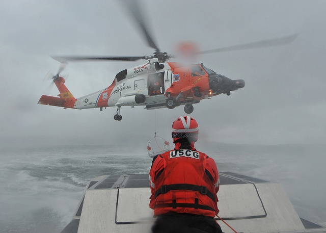 Aids to Navigation Team Kodiak conducts helicopter training by U.S. Coast Guard, via Flickr