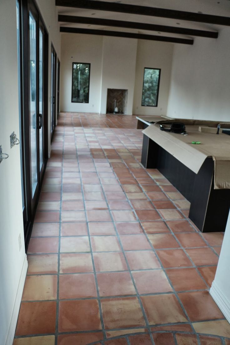 23 best saltillo tile images on pinterest flooring diy i also have a tutorial on how to strip seal saltillo tiles here doublecrazyfo Gallery