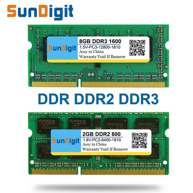 Brand SunDigit Laptop Memory Ram DDR1 DDR2 DDR3 400MHz 800MHz 1333MHz 1600Mhz 8GB 4GB 2GB 1GB 512MB for Notebook Sodimm Memoria now at http://ift.tt/2DC71Rd