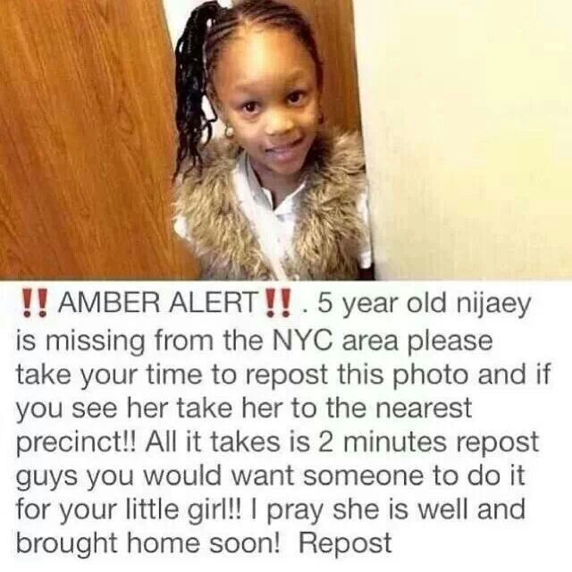 Help bring this little angel home to her mommy think if it were you and your mom trying to find you I know my mom would die to find me