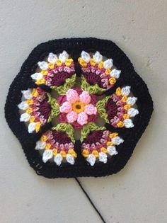Ravelry: Project Gallery for Frida's Flowers Blanket pattern by Jane Crowfoot ༺✿Teresa Restegui http://www.pinterest.com/teretegui/✿༻