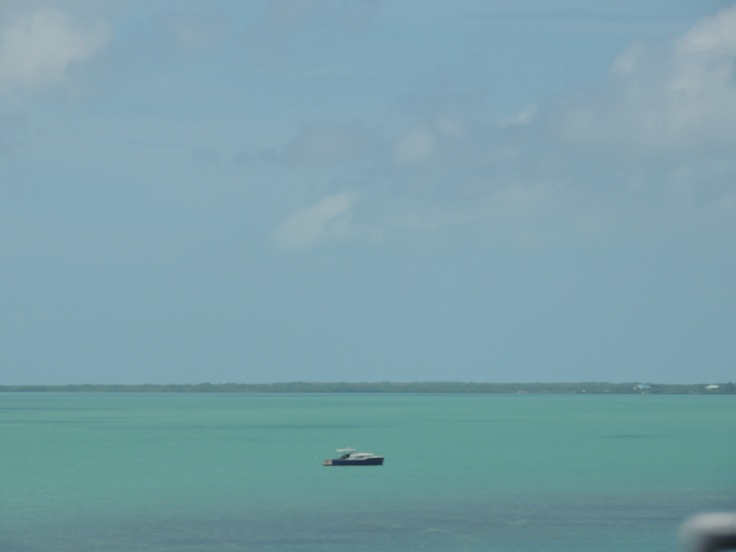 Beautiful water on the drive to Key West!