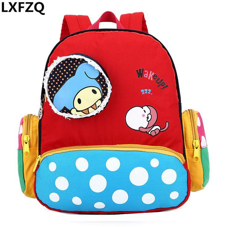 children's backpack Cartoon for school bag children school bags for girls mochila escolar menino kids bag lovely backpack kids