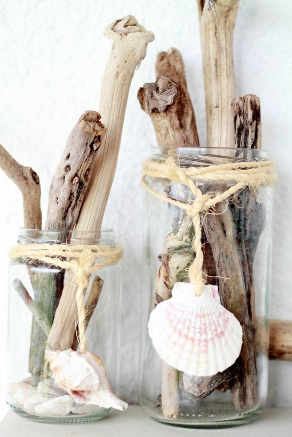 Wenn es um maritime Dekorationsideen geht, geht es um Objekte wie Sand, …
