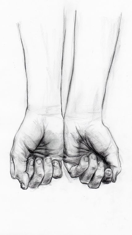 drawing hands | love the detail here