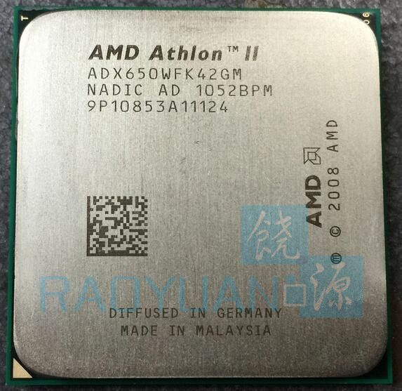 AMD Athlon II X4 650 3.2 GHz Duad-Core CPU Processor X4-650 ADX650WFK42GM Socket AM3 Sell X4 630/X4 635/X4 640/X4 645 #Affiliate