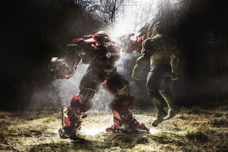 How to turn toy action figures into life sized super heroes with compositing - DIY Photography