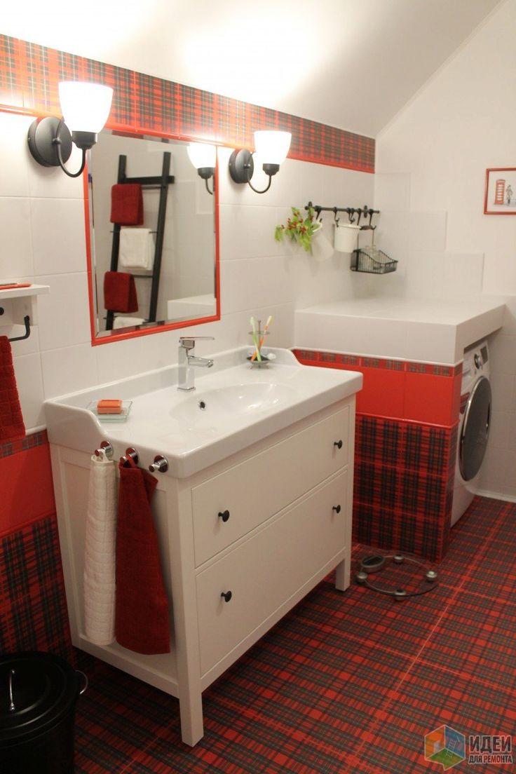 Необычная ванная комната, ванная в английском стиле