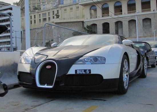 Bugatti in montecarlo