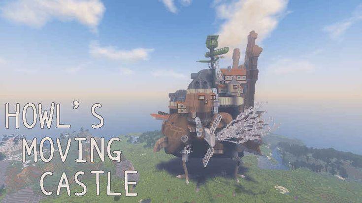 ハウルの動く城をキレイな画像で紹介【マインクラフト】