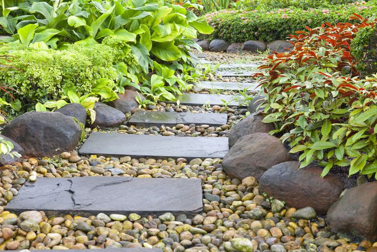 How to Build a Stepping Stone Pathway | eBay