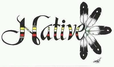 I'm proud of our Native Heritage