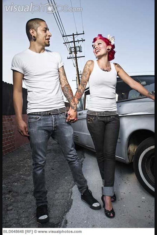 The gallery for --> Rockabilly Couple