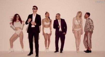 """Blurred Lines,"" Robin Thicke 
