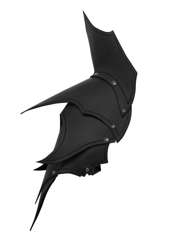 Dunkelelf Schultern schwarz online bestellen bei larp-fashion.de