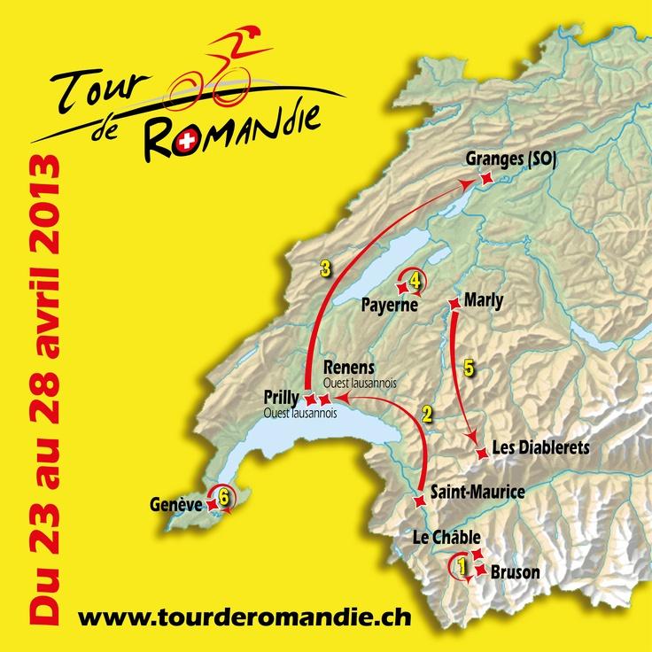 From 23th to 28th April 2013 - Tour de Romandie 2013