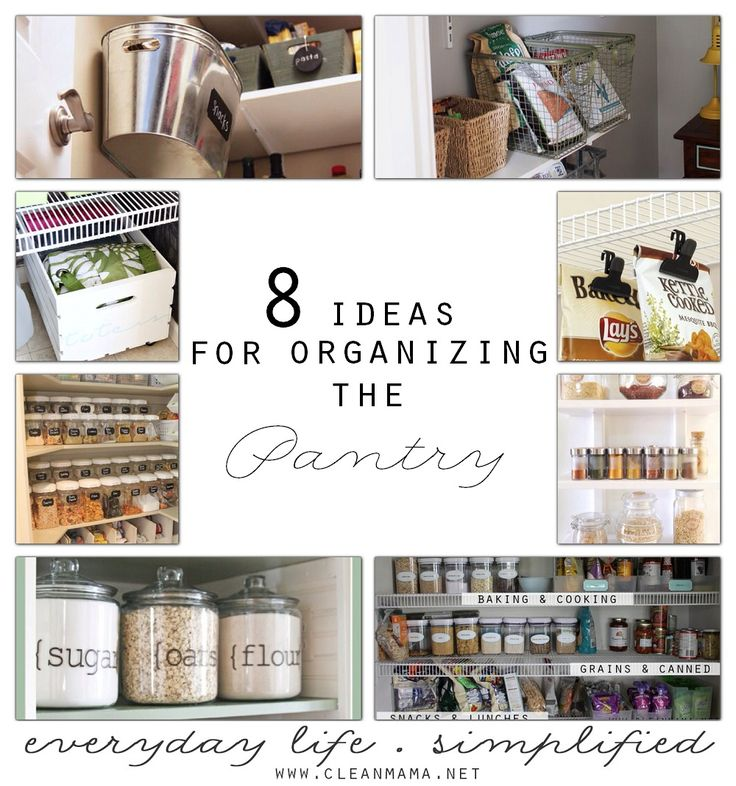 9 Tips For A Perfectly Organized Pantry: 172 Best Decorating & Organizing Small Houses Images On