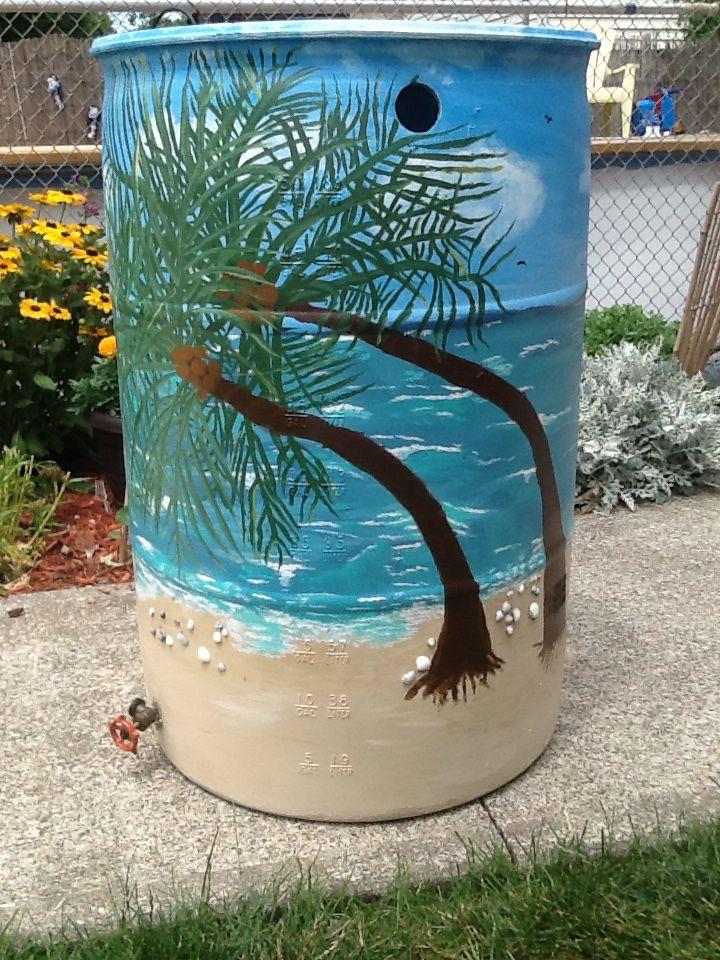 tropical rain barrel