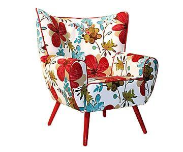 Poltrona Aurora Red Flowers Para ler, conversar ou até ver aquele seu programa de TV favorito, as poltronas são sempre as melhores escolhas. Mas não só isso: elas também são perfeitas para fazer composições inusitadas (ou coordenadas) com o sofá, delimitar espaços e até preencher aquele cantinho vazio do escritório. Se interessou? Então confira os vários modelos que reunimos aqui e já comece a relaxar!