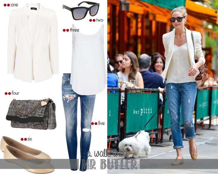Get the look - Olivia Palermo: Let's go for a walk Mr Butler! #9 |  http://getthelookoliviapalermo.blogspot.com.es/