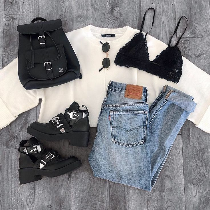 felicia ivory sweater top in 2019 style outfit ideen. Black Bedroom Furniture Sets. Home Design Ideas
